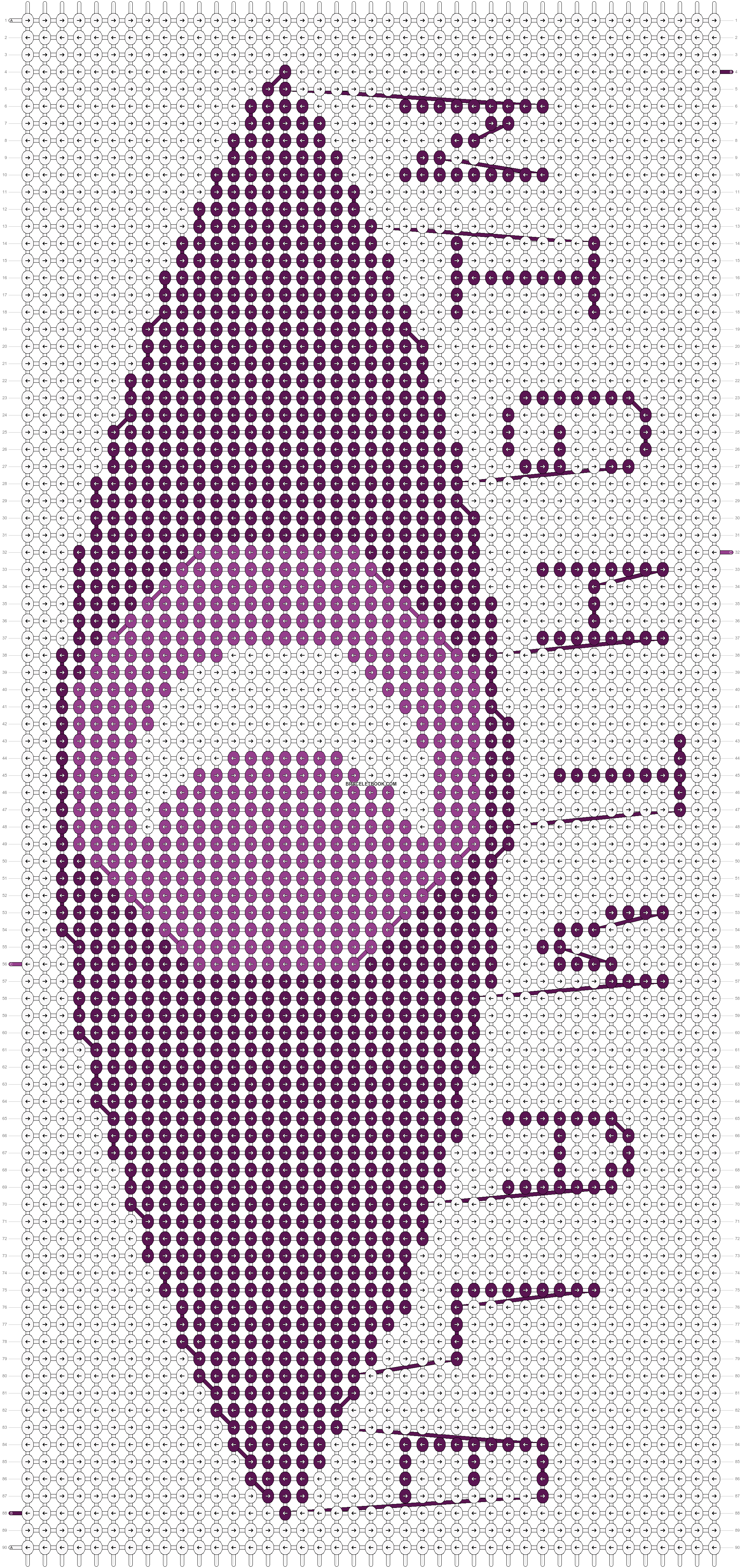 Alpha pattern #21963 pattern