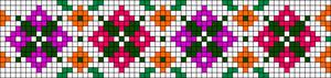 Alpha Friendship Bracelet Pattern #21964
