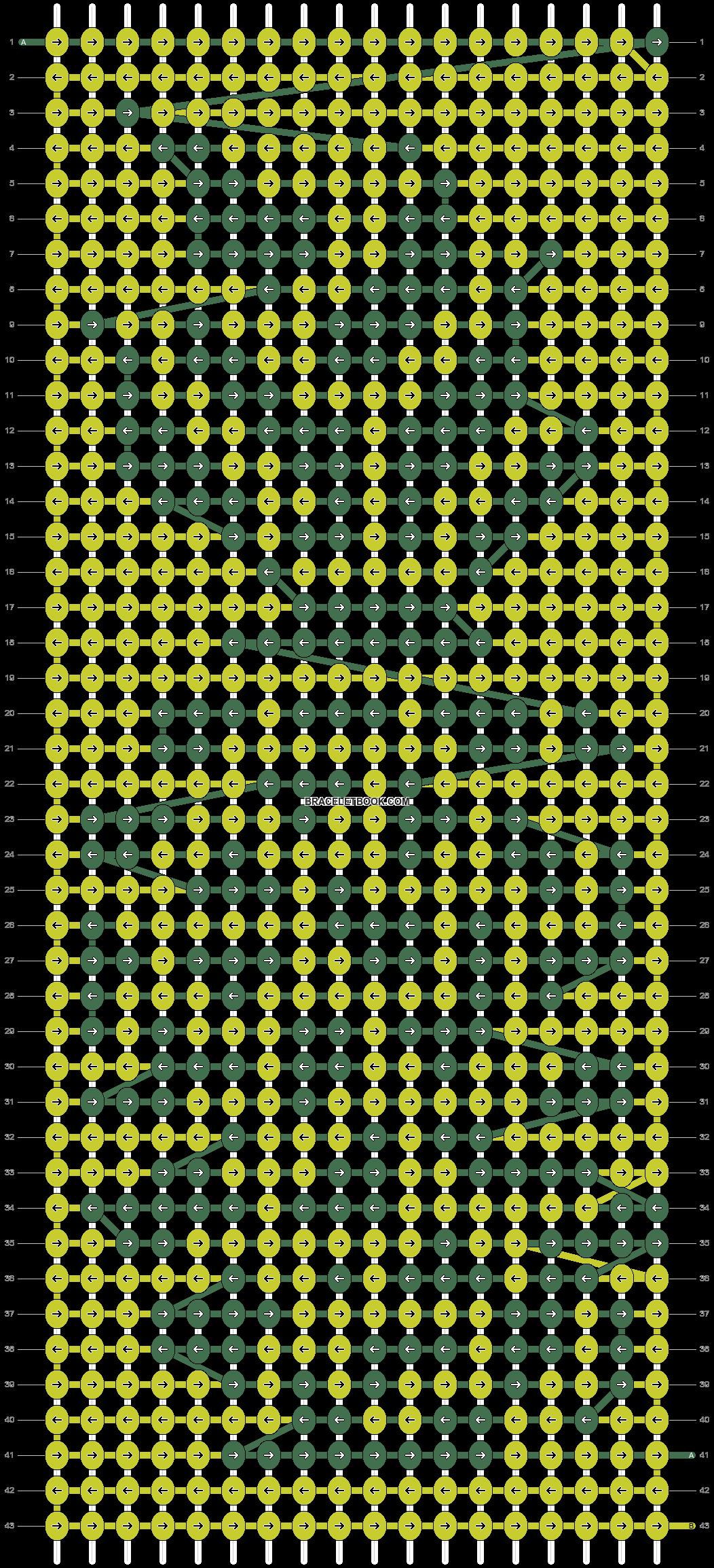 Alpha pattern #21965 pattern