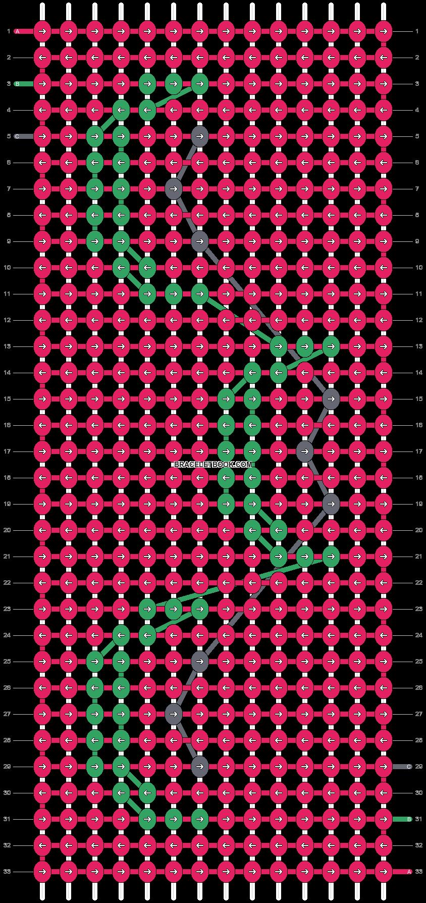 Alpha pattern #21966 pattern