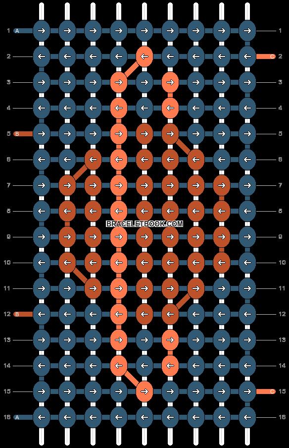 Alpha pattern #21967 pattern