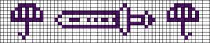 Alpha pattern #21976