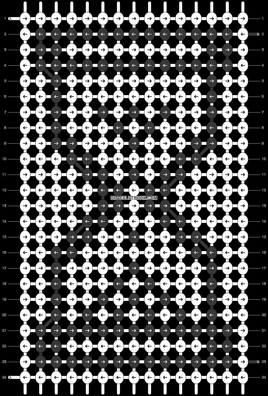 Alpha pattern #21978 pattern