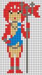 Alpha Friendship Bracelet Pattern #21988