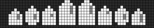 Alpha Friendship Bracelet Pattern #21995