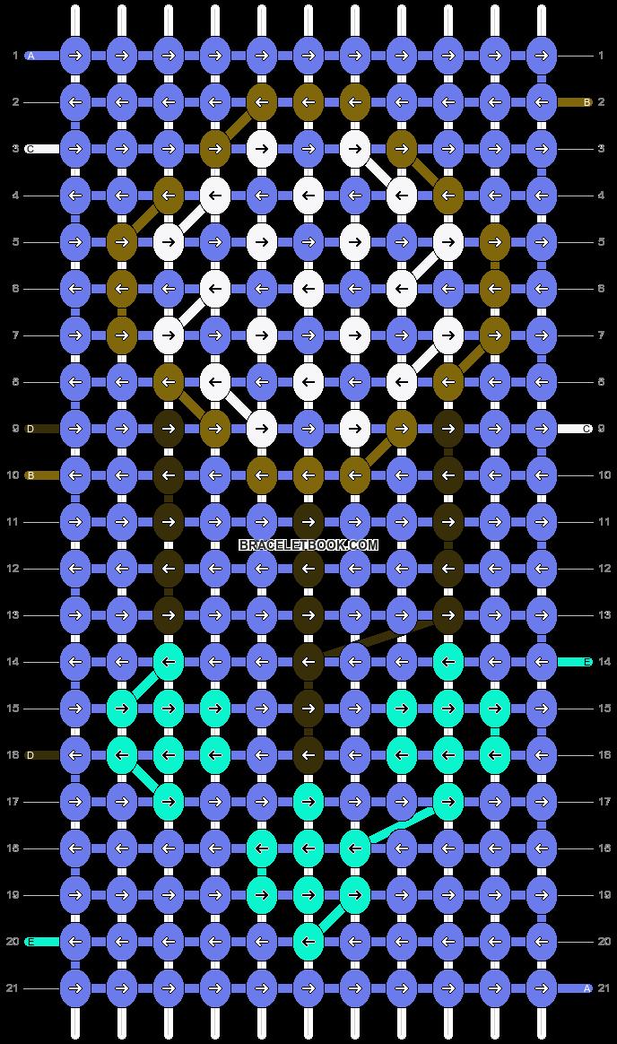 Alpha pattern #22002 pattern