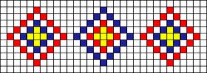 Alpha Friendship Bracelet Pattern #22003