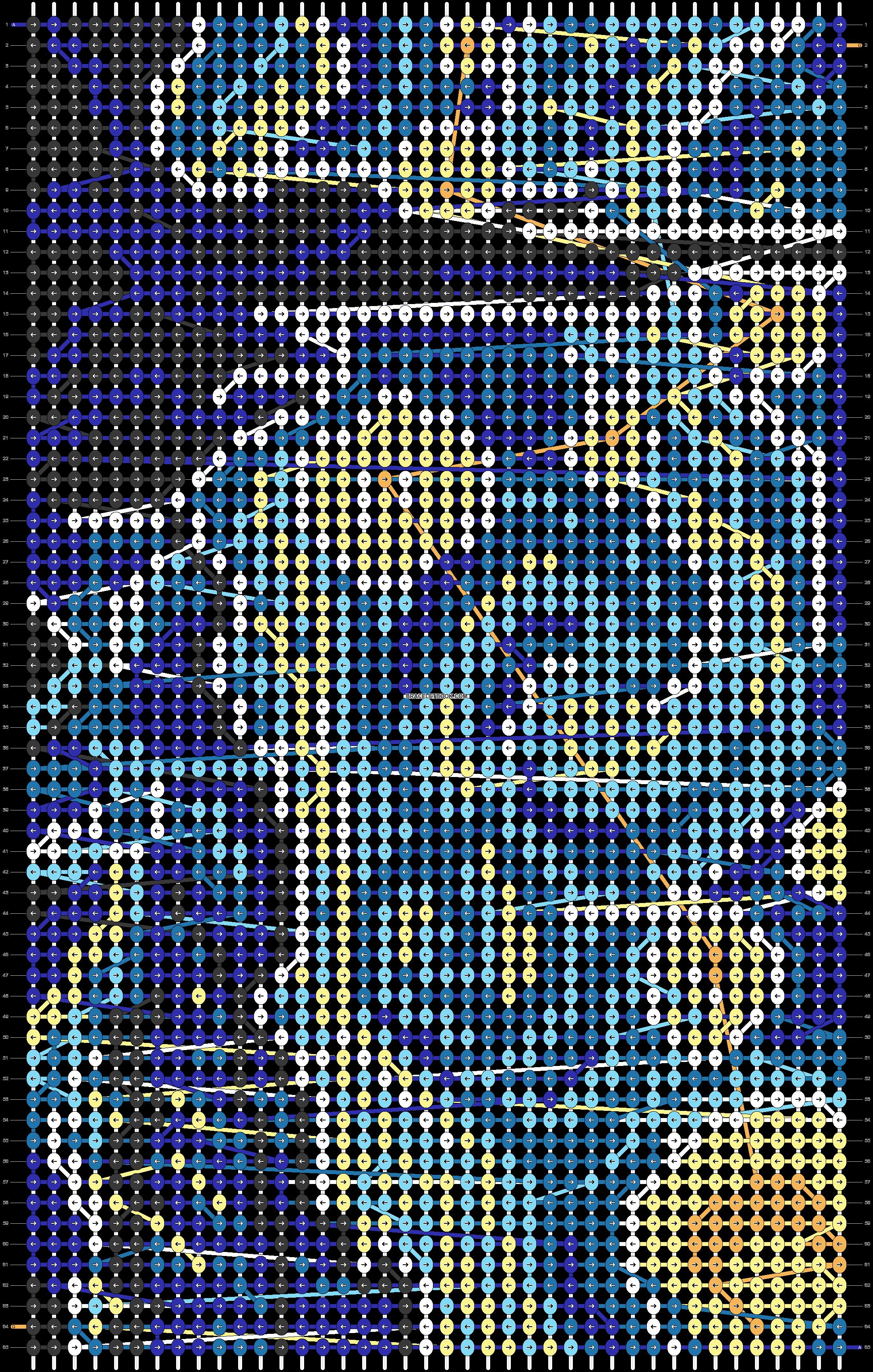 Alpha pattern #22014 pattern