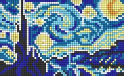 Alpha pattern #22014
