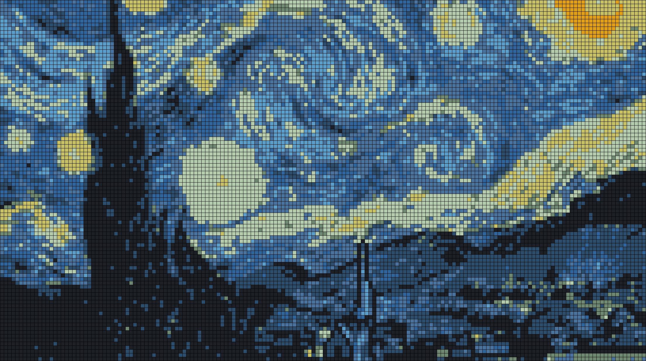 Alpha pattern #22024 preview