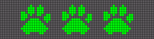 Alpha pattern #22030
