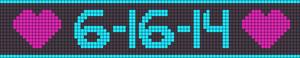 Alpha Friendship Bracelet Pattern #22032