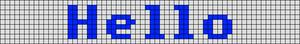 Alpha pattern #22041