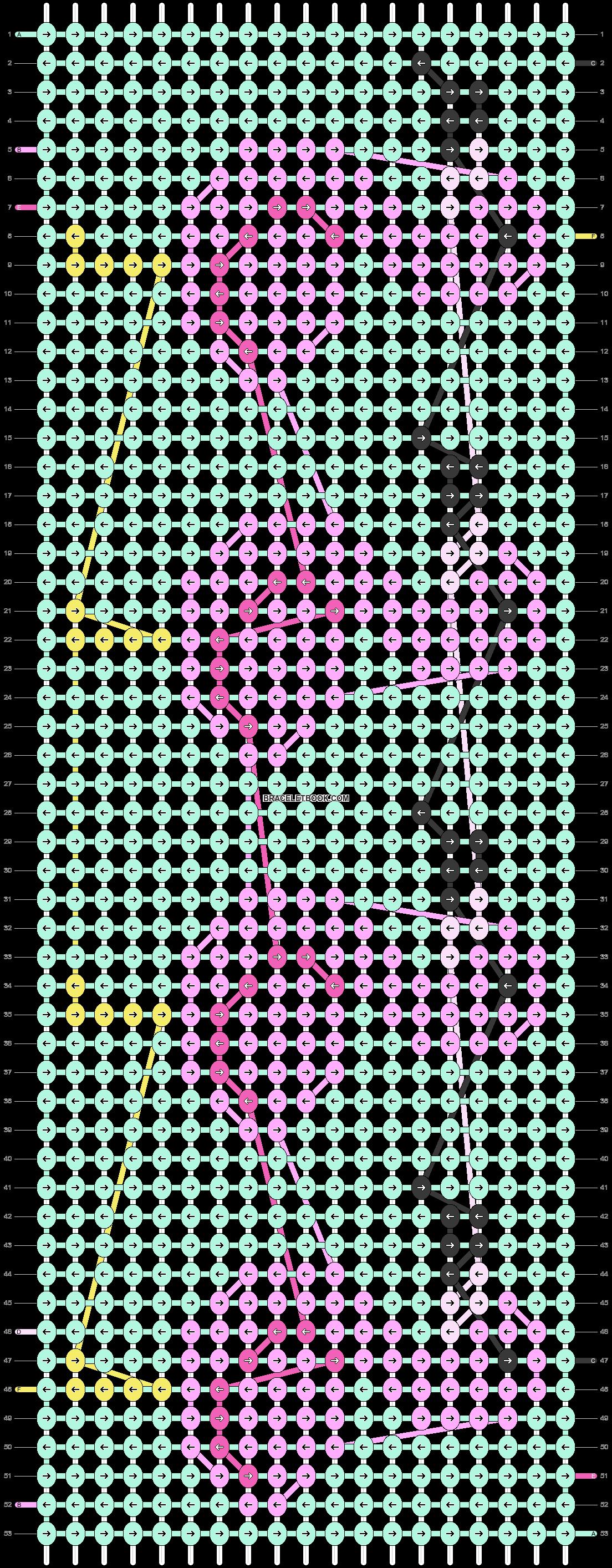Alpha pattern #22043 pattern