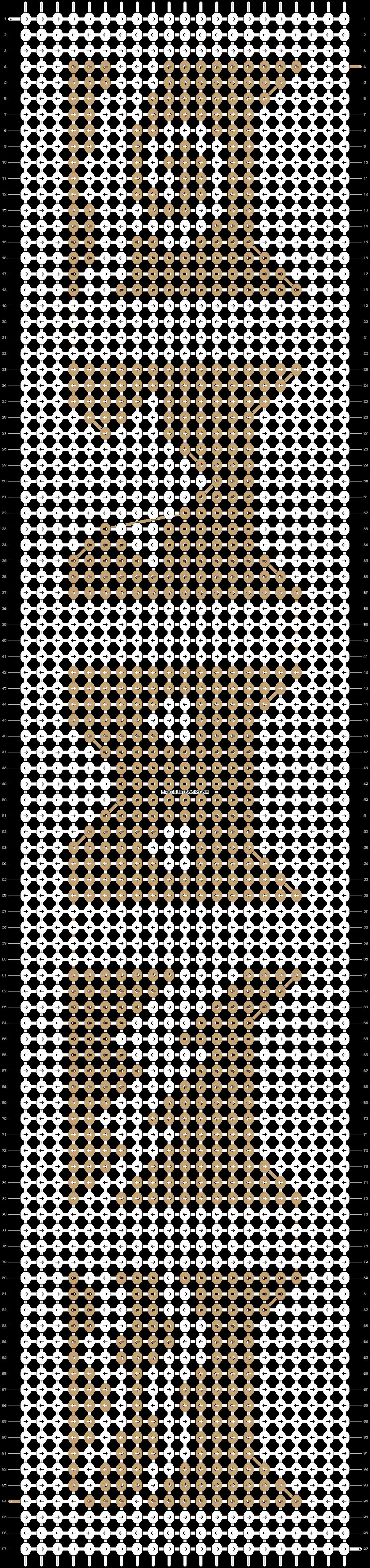 Alpha pattern #22050 pattern