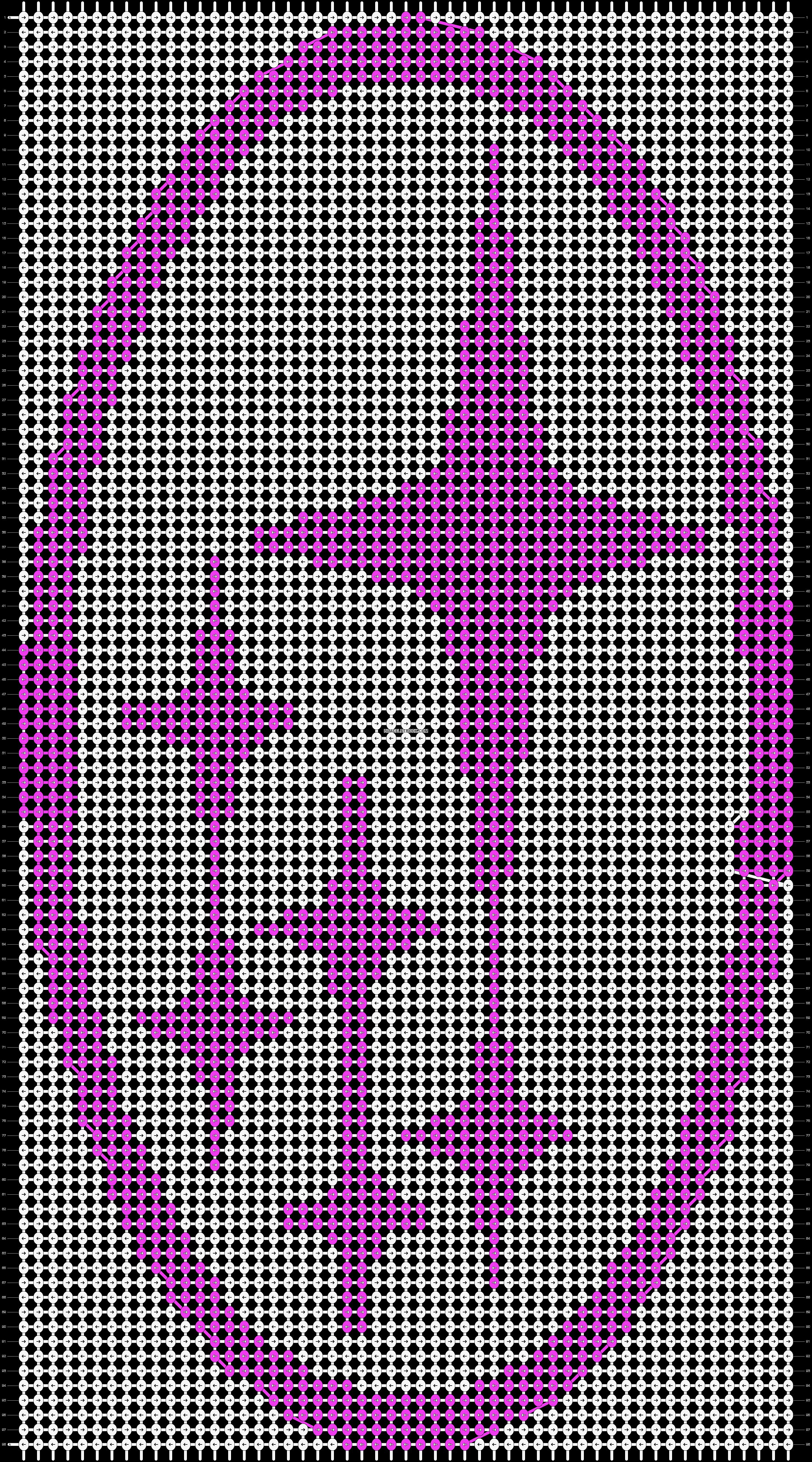Alpha pattern #22057 pattern