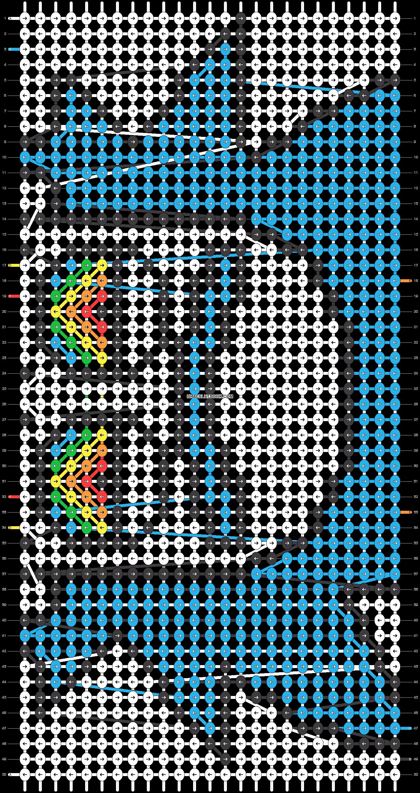 Alpha pattern #22063 pattern