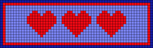 Alpha pattern #22069