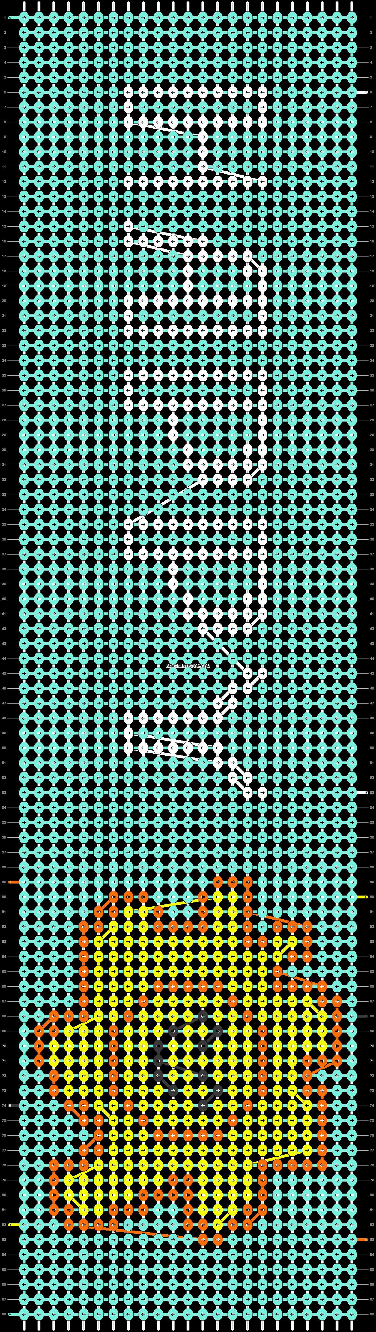 Alpha pattern #22072 pattern