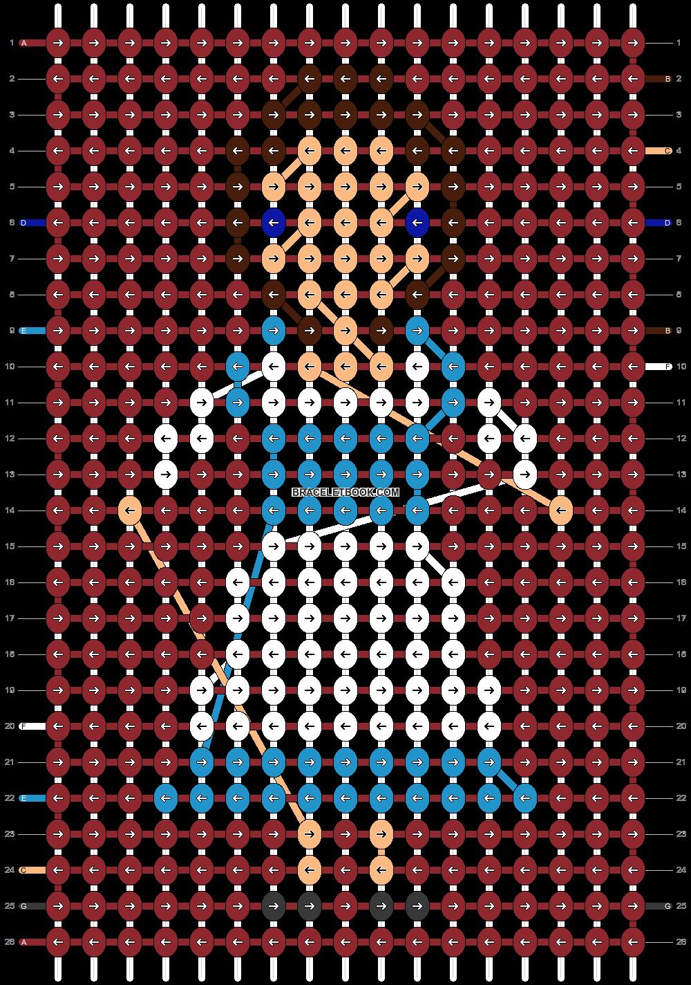 Alpha pattern #22073 pattern
