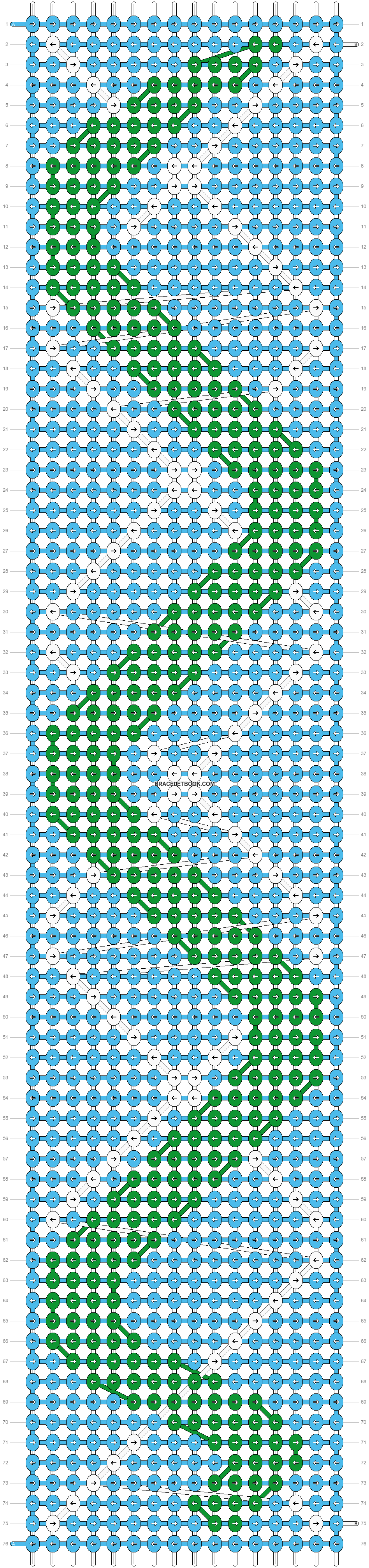 Alpha pattern #22080 pattern