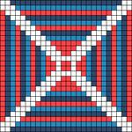 Alpha pattern #22081