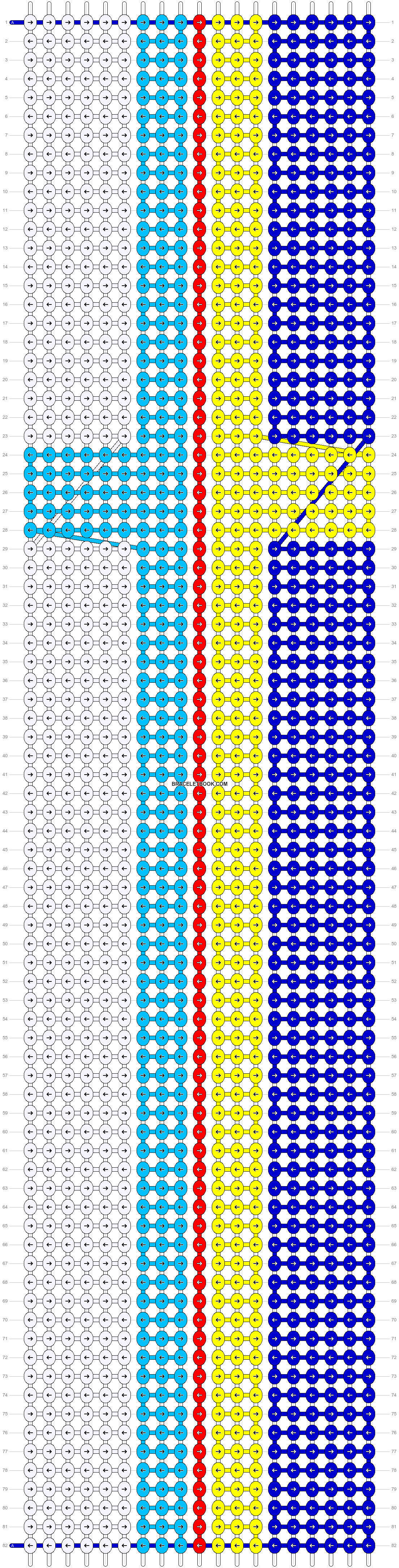 Alpha pattern #22082 pattern