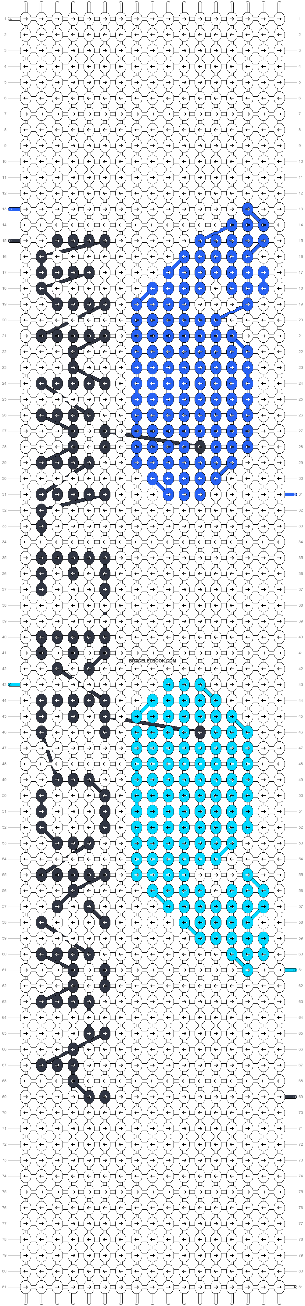 Alpha pattern #22083 pattern