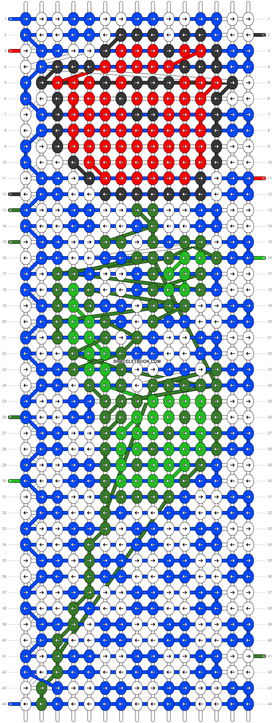 Alpha pattern #22084 pattern