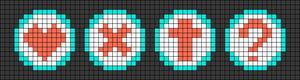 Alpha Friendship Bracelet Pattern #22091