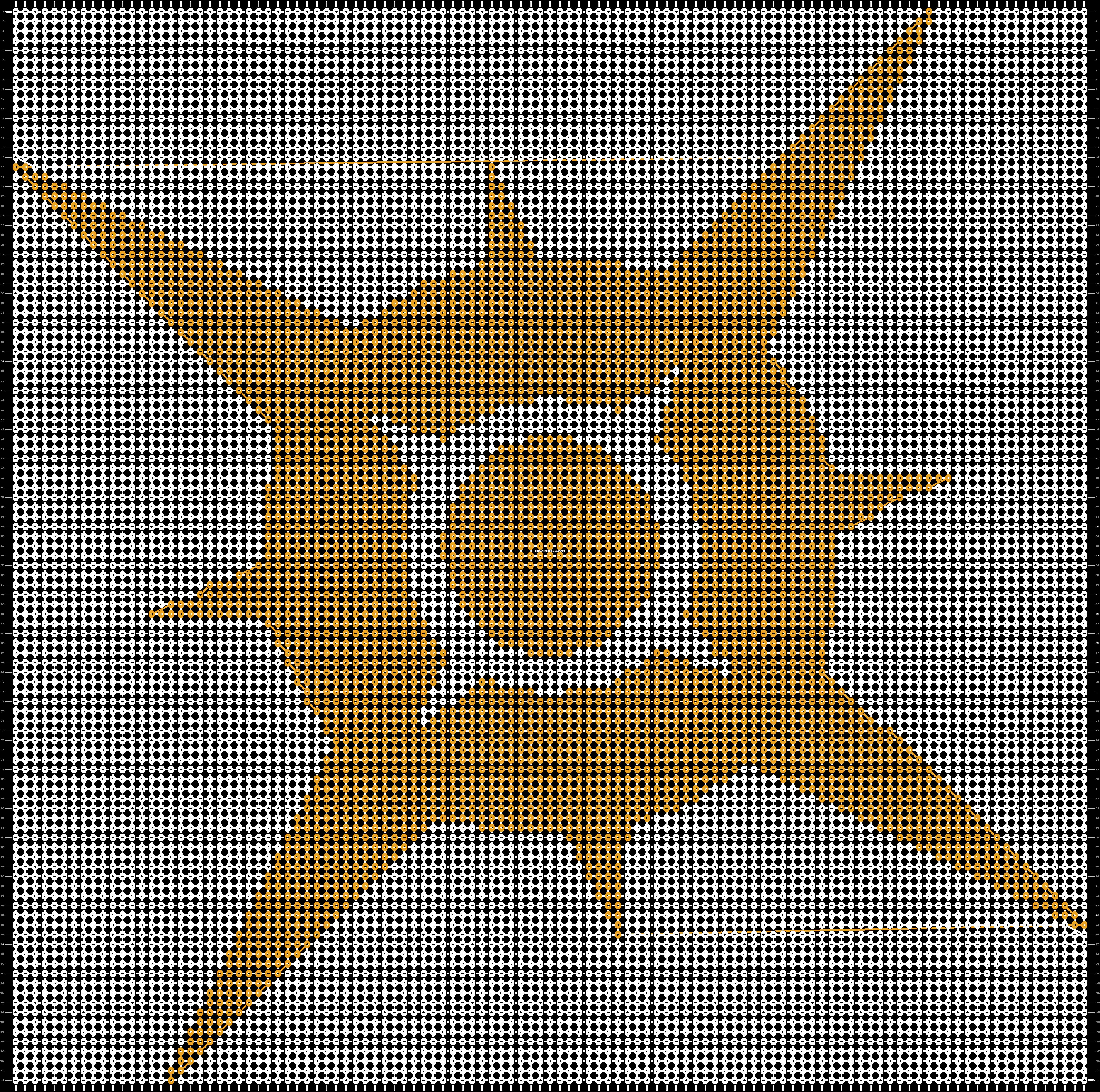 Alpha pattern #22096 pattern