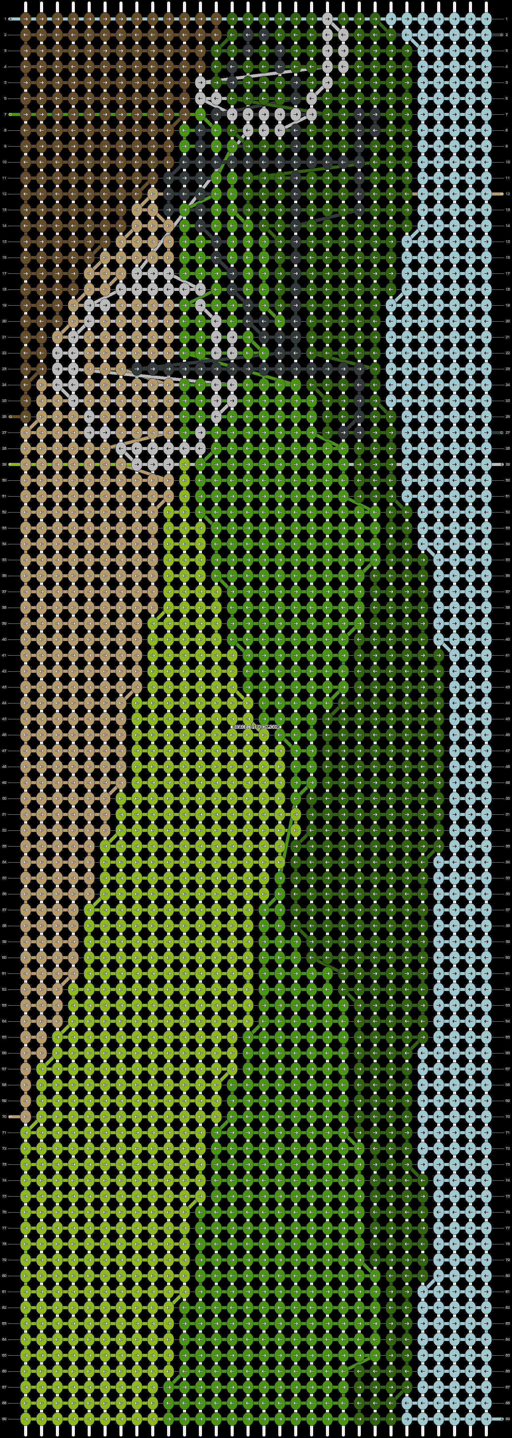 Alpha pattern #22101 pattern