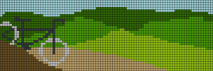 Alpha pattern #22101