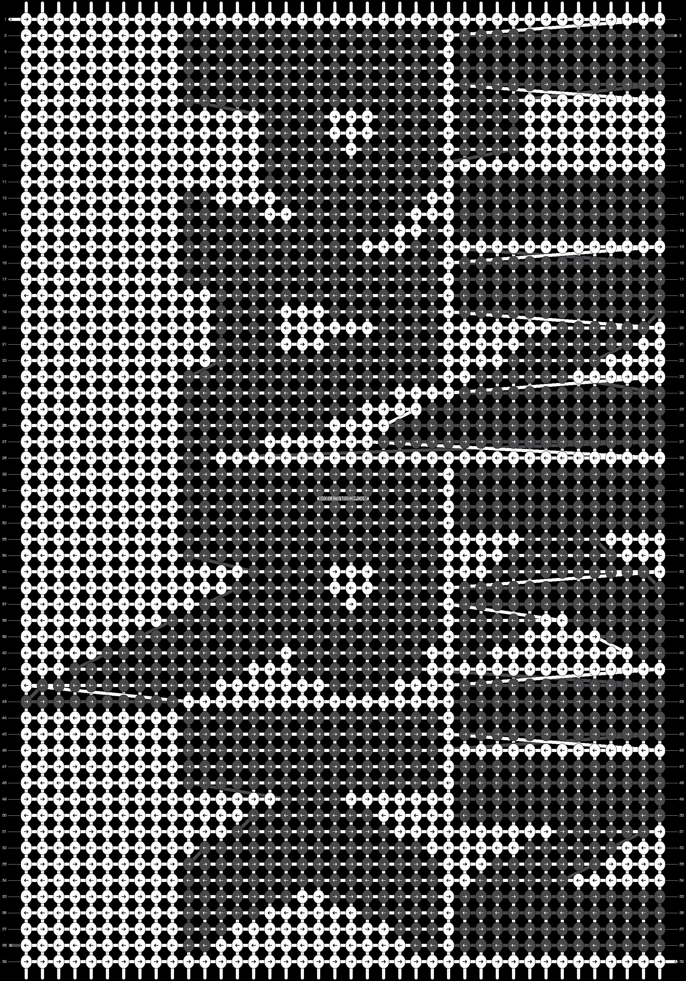 Alpha pattern #22104 pattern