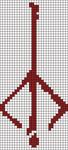 Alpha pattern #22115