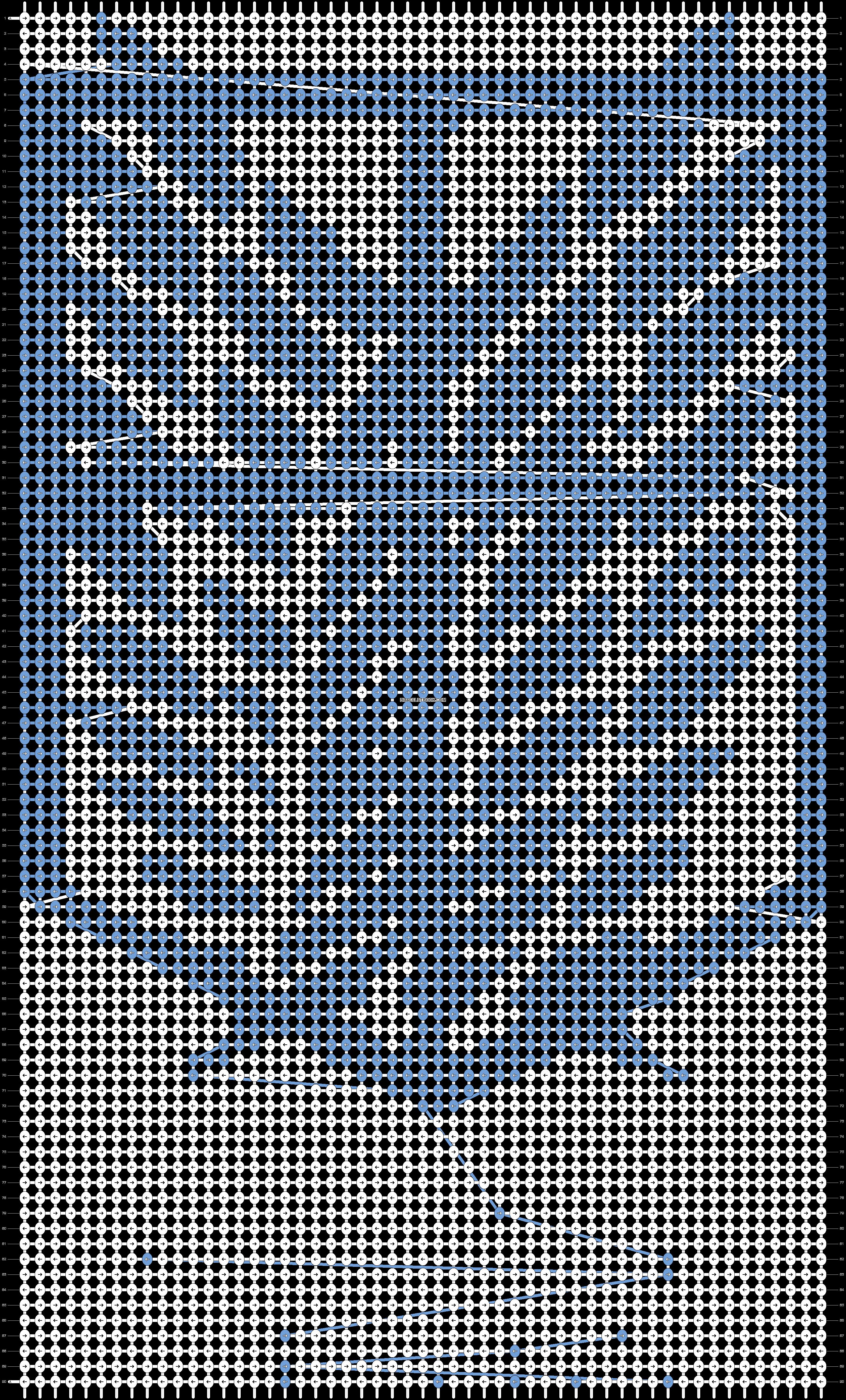 Alpha pattern #22123 pattern
