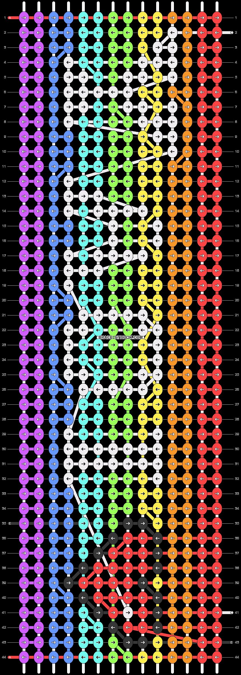Alpha pattern #22124 pattern