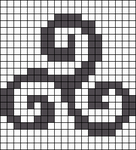 Alpha pattern #22125