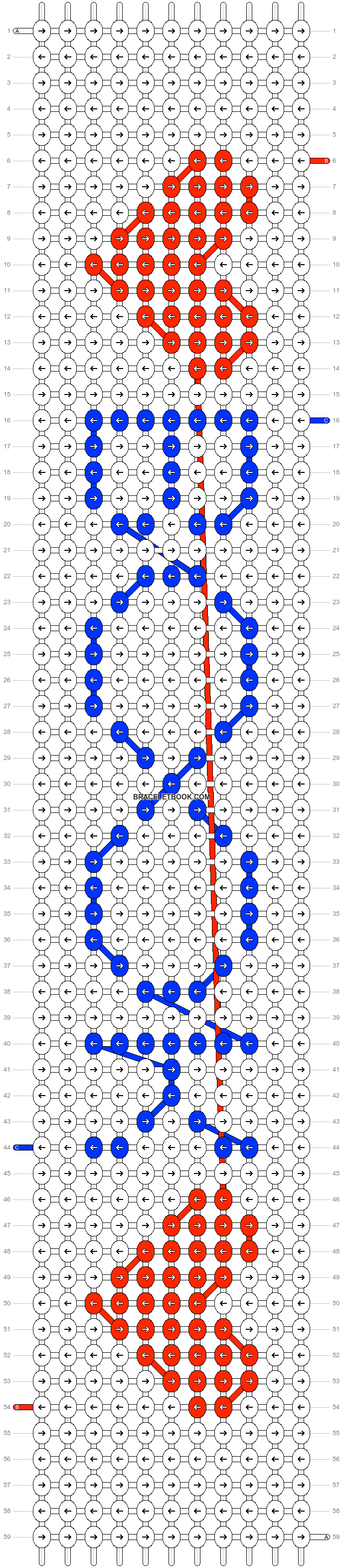 Alpha pattern #22126 pattern