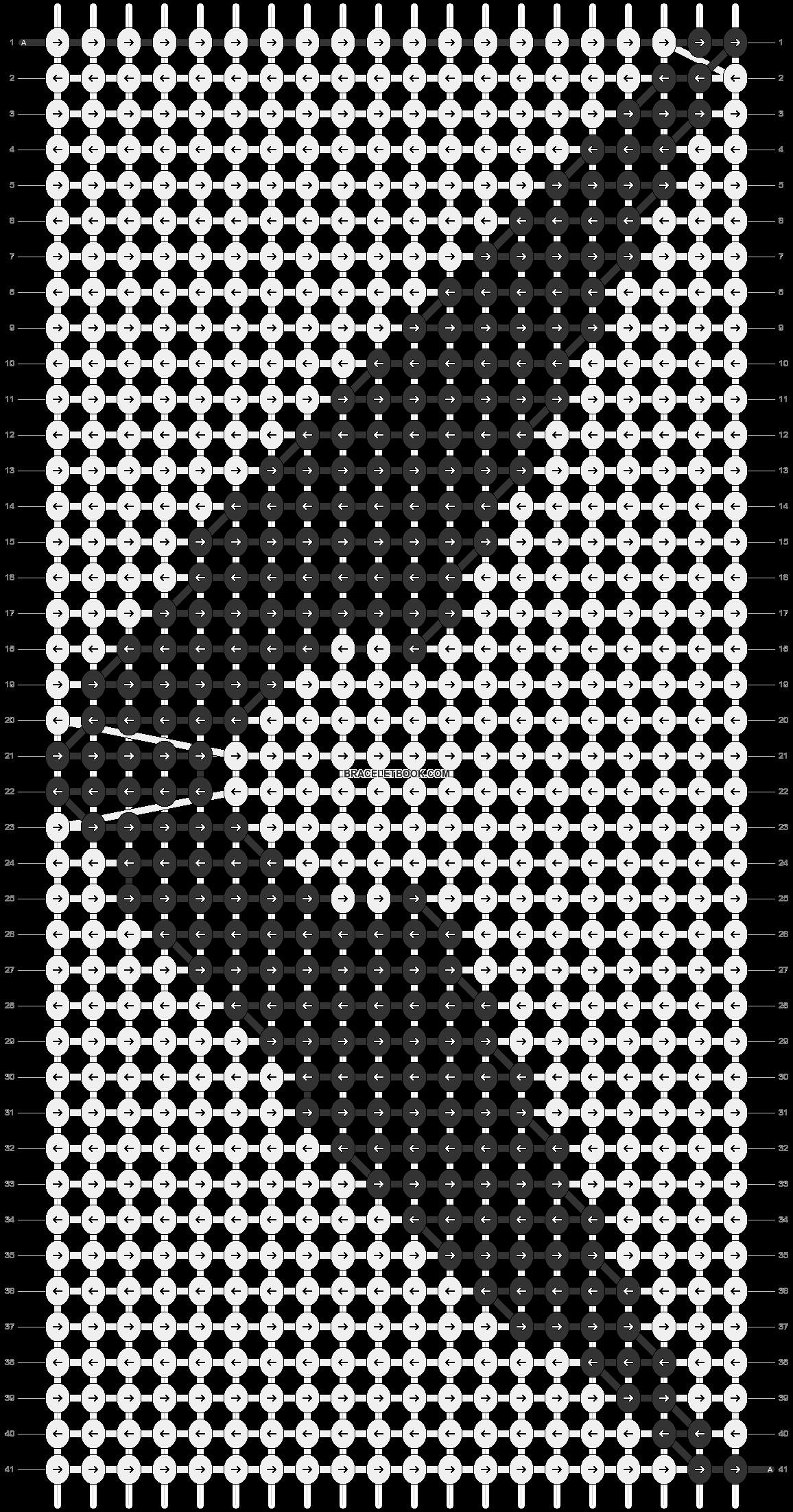 Alpha pattern #22128 pattern