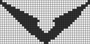 Alpha Friendship Bracelet Pattern #22128