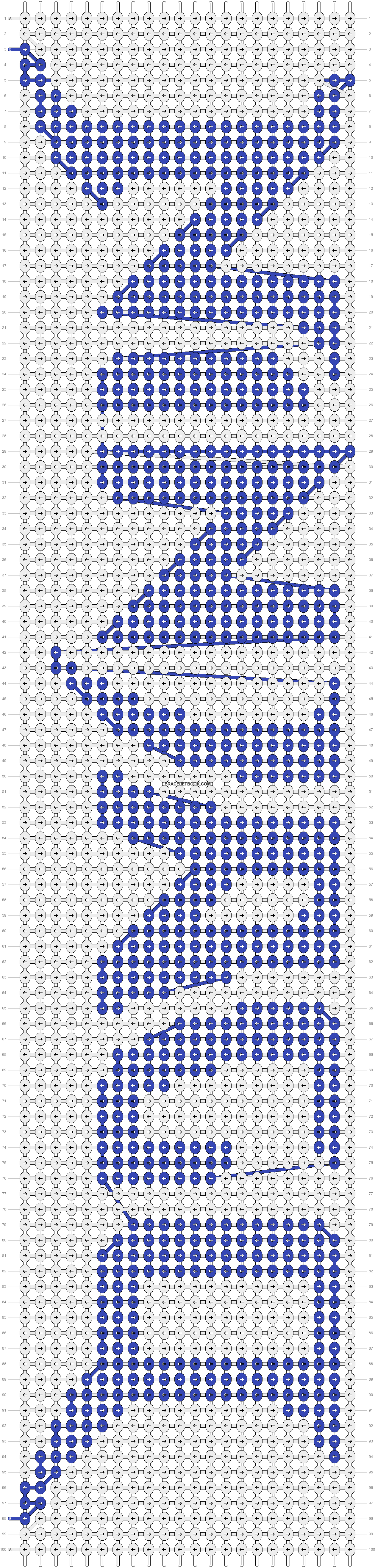 Alpha pattern #22129 pattern