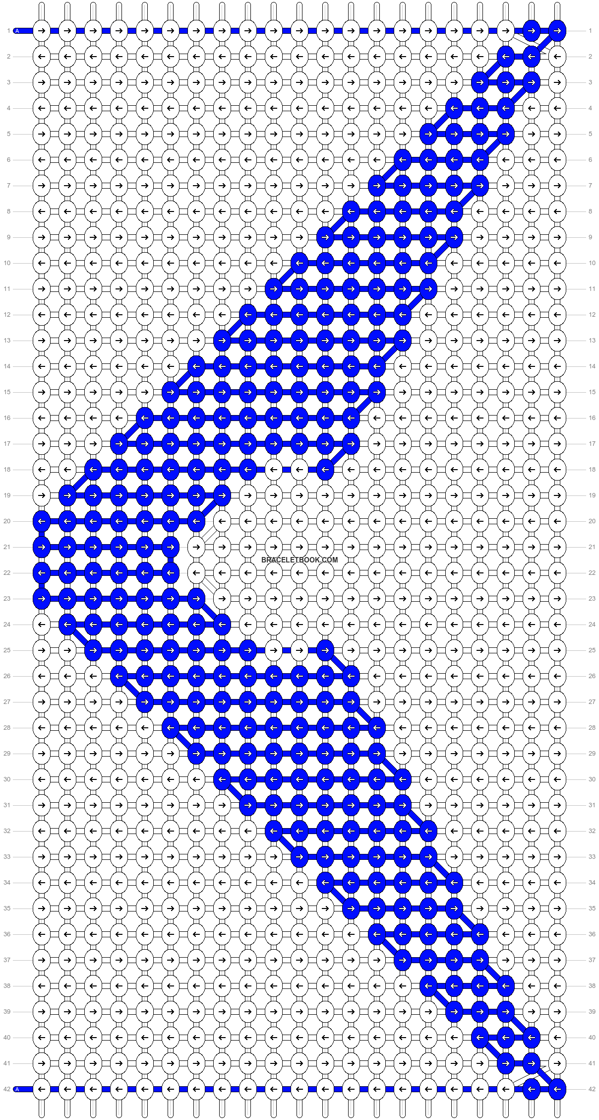 Alpha pattern #22130 pattern