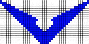 Alpha Friendship Bracelet Pattern #22130