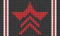 Alpha Friendship Bracelet Pattern #22134