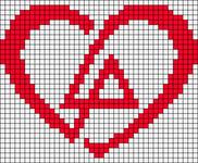 Alpha Friendship Bracelet Pattern #22136