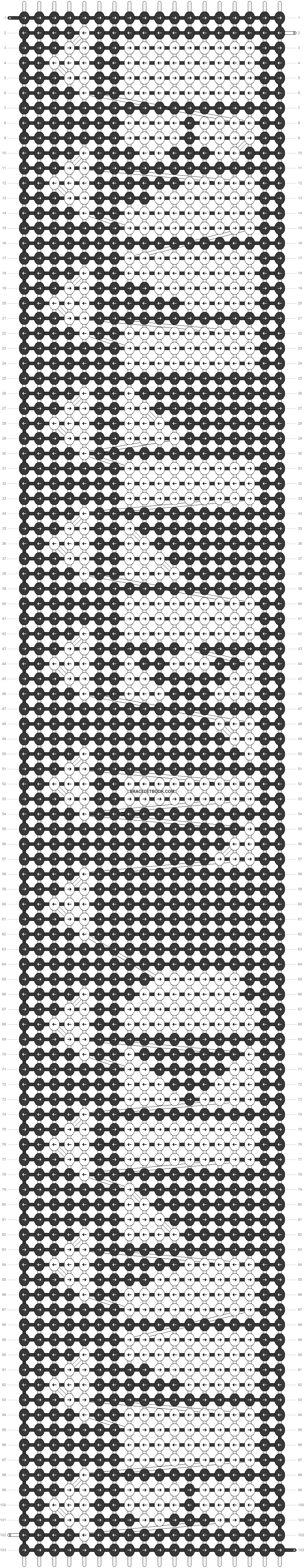 Alpha pattern #22142 pattern