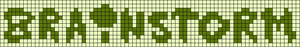 Alpha Friendship Bracelet Pattern #22149