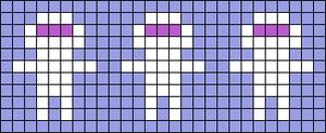 Alpha Friendship Bracelet Pattern #22150