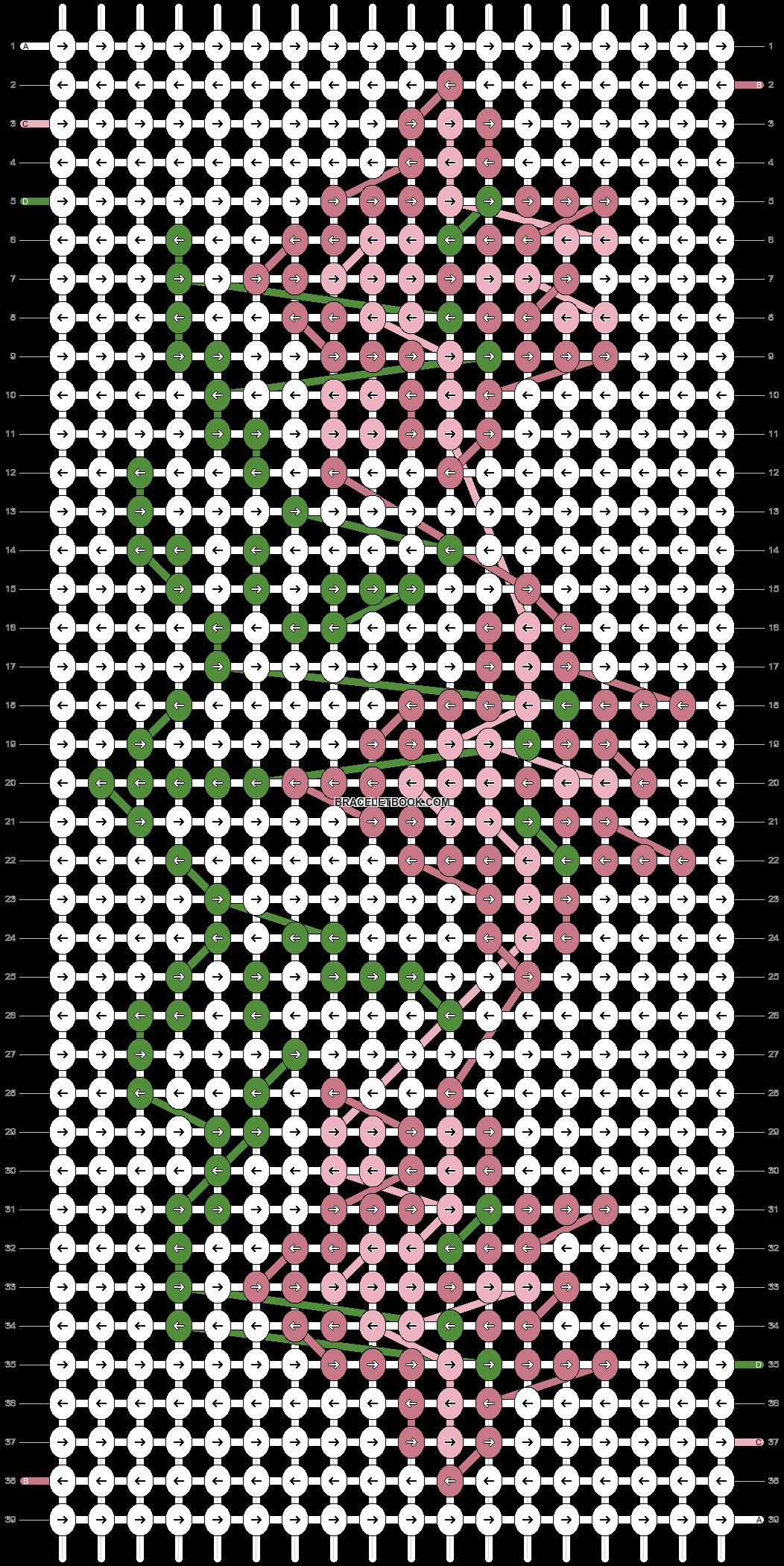 Alpha pattern #22155 pattern